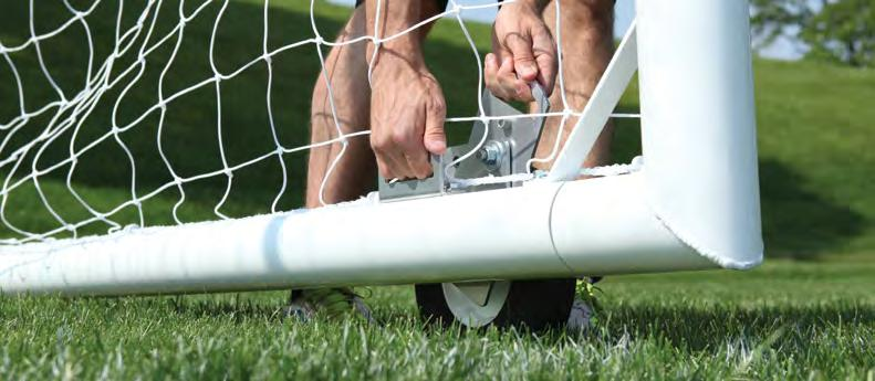 u90 Premier Soccer Goals The U90 Premier Soccer Goal is a portable goal that comes in 4 easy to