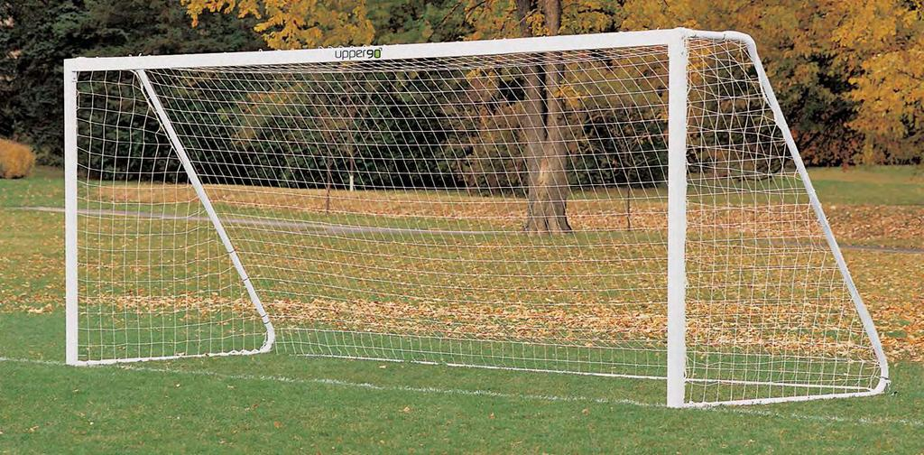 44 45 45 u90 League Goals The U90 League Goal comes in 4 easy to assemble sections and is available as a portable as well as a stationary goal.