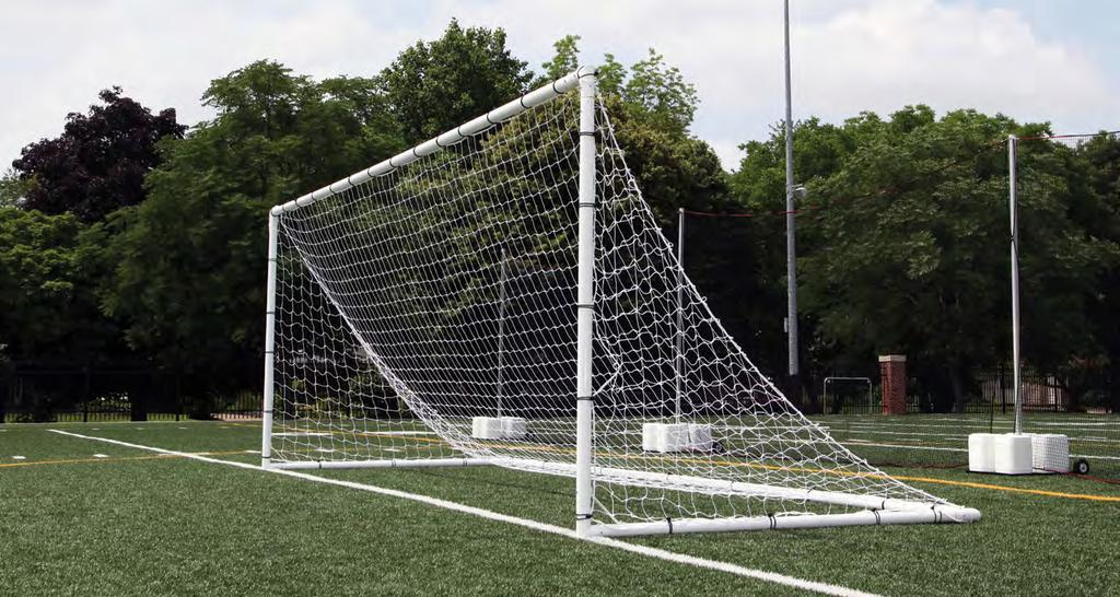 NCAA specifications 387200 8 x 24 Portable Club Goals (pr) 387201 7 x 21 Portable Club Goals (pr) 387202 6 6 x 18 6