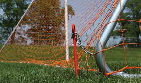 00298-170 F155 54401 Accessories The Auger Anchor Goal Kit is required on existing portable soccer goals to prevent