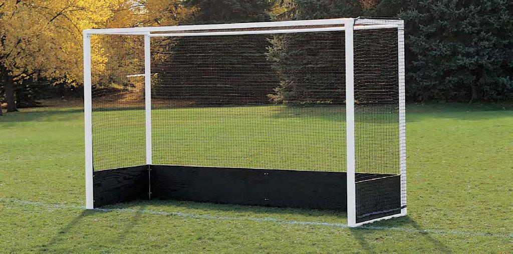 Lacrosse POrtable & Stationary Goals The Lacrosse Goal is available as a portable as well as a stationary goal.