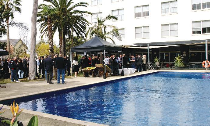 Outdoor spaces The Lawn and Poolside Gardens The Lawn Located in our beautiful gardens, The Lawn is very popular with our brides for their wedding ceremonies, it s also