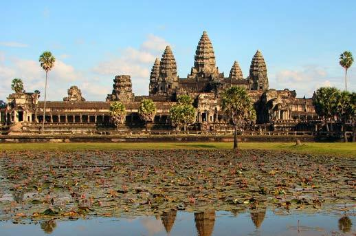 CAMBODIA EXTENSION PROGRAM MONDAY, JUNE 18 Transfer to airport for short flight to Siem Reap, Cambodia Lunch Tour the twin temples of Chau Say Thommanon and Tevoda, the unfinished temple-mountain of