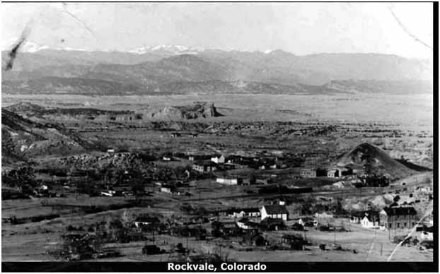 Just beyond this, notice the sign as you enter Rockvale. (Continue on Churchhill, CR 11A.) 12 Fremont County Heritage Guide The Town of Rockvale was homesteaded by Col.