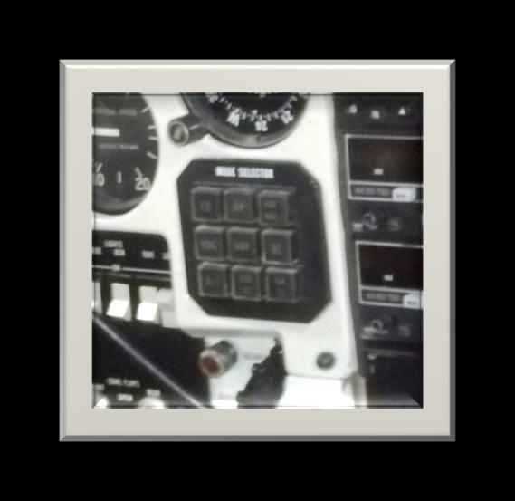 The suction gage for the attitude indicator and directional indicator is located on the upper right portion of the panel. It indicates the available suction in inches of mercury.