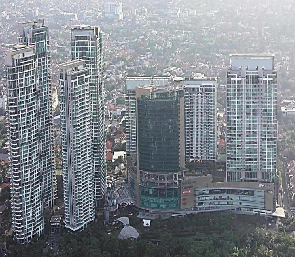 A LANDMARK PROJECT SOUTH JAKARTA (FIRST LAUNCHED ON JULY 2007) THE COSMOPOLITAN THE BLOOMINGTON THE INFINITY SOLD (AS OF 31 DECEMBER 2016) THE TIFFANY THE