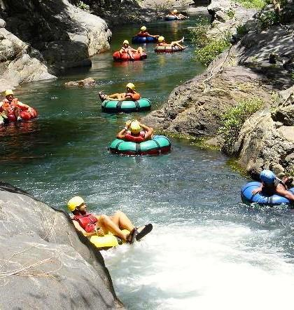 Cañon de la Vieja Enjoy a full day of exciting adventure activities like