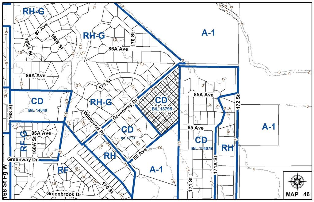 to allow for an increased house size on thirteen (13) recently approved small suburban lots in Fleetwood.