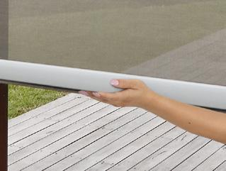operate your awning without the need for a motor or a crank handle.