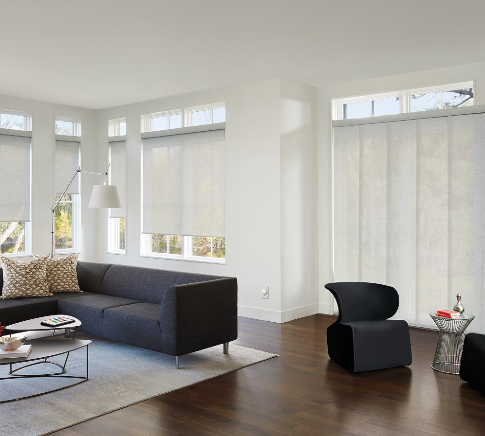 20% OFF # SELECTED LUXAFLEX WINDOW FASHIONS PANEL GLIDE ROLLER BLINDS STYLISH SUN CONTROL The Luxaflex Fabric Collection provides you with many choices for