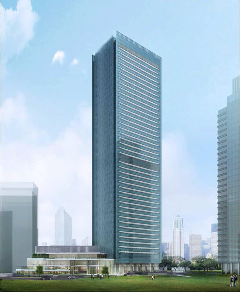 Jakarta Jakarta Land (50%-owned) WTC 3 Existing portfolio features 135,000 sq. m.