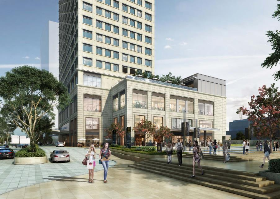Phnom Penh EXCHANGE SQUARE (100%-owned) Mixed-use complex
