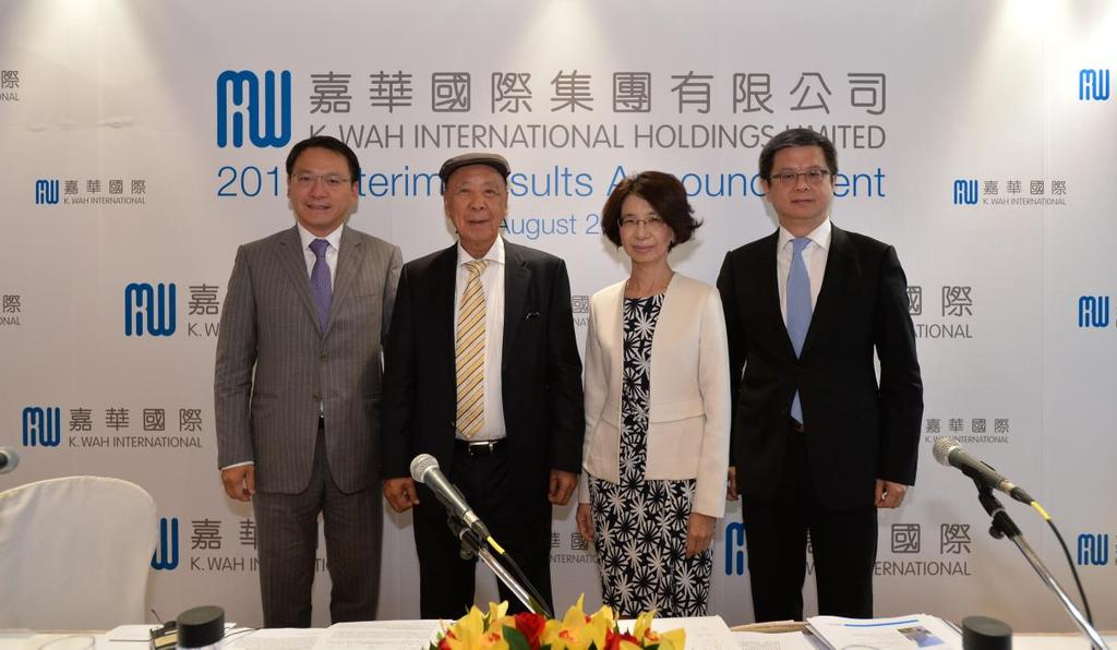 Lui, Executive Director; Herbert Hui, Chief Financial