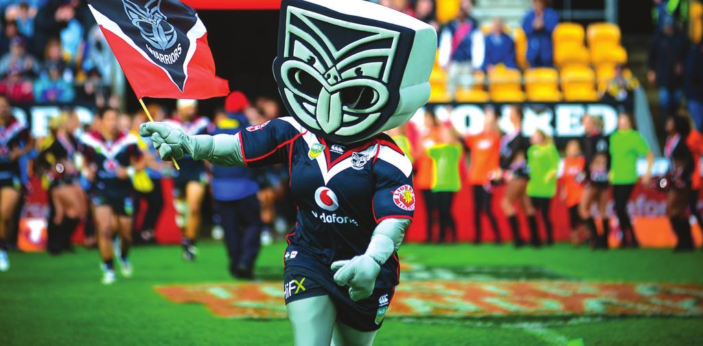 Home of the Vodafone Warriors in the NRL Premiership