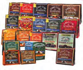 Hi Mountain Jerky Seasoning Kits All 7 oz. kits include seasoning, cure and easy-to-follow instructions for 15 pounds of meat...$14.25 each.