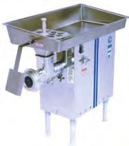 Biro Electric Meat Grinders Cont'd (A) 548SS HHP (Heavy Horse Power) Electric Meat Grinder (Cat#: BSEGBIRO548) - The Biro HHP (Heavy Horse Power) Meat Grinders are a series of manual feed grinders
