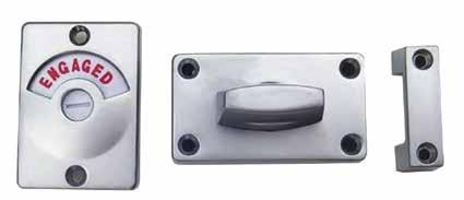 Finish: Satin Chrome Mounting: Concealed Screw Fix, Surface Mounted Lift Off Staple, ABS Snap On Cover Finish: Satin Chrome Mounting: Concealed Screw Fix, Surface Mounted 6 50 13 43 68 14