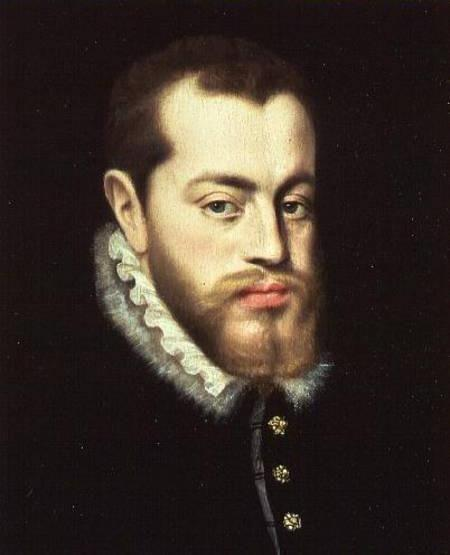 Philip II 29 years old when he begins rule of Spain 1556-1598 (42 years) - Saw himself as a leader of the Counter-Reformation - expensive