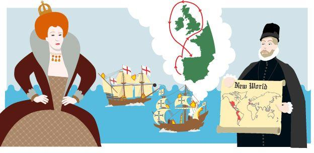 Philip II - wanted to take over England - - - This was a fleet of 130 ships and 33,000 men.