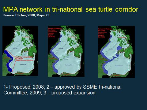 Marine Protected Area Network -Concept for