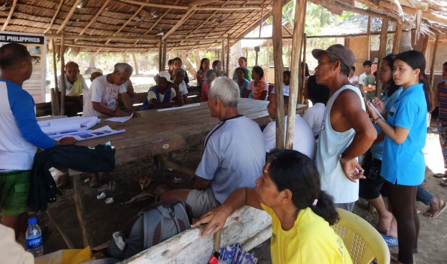 Turtle Islands Wildlife Sanctuary: Biophysical and socio-economic vulnerability assessments conducted;