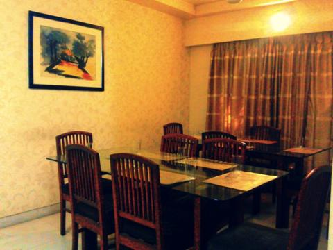 Mint Airport Suites, Vile Parle Picture Gallery Connected suite of Living Room & 2 Bed Room along with study