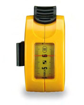 Pocket tape measure Type BM 30 W Pocket tape measure Type BMT Same as the Type BM 30 but with a window for reading internal measurements directly.