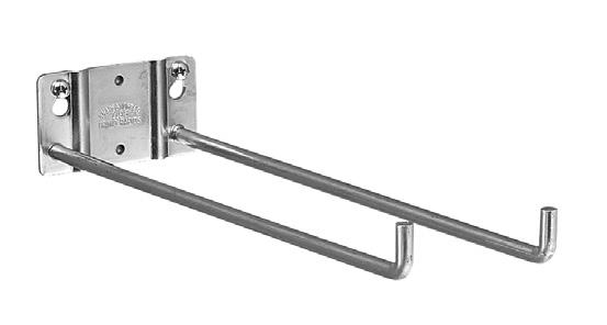 "Utility Hook Size: 5-1/2"" or 10"" lengths Packed: 10 units per carton with screws Features: Sturdy steel rod for extra"