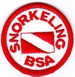 SNORKELING BSA This program introduces Scout-age children and adult leaders to the special skills, equipment, and safety precautions associated with snorkeling. This is not a merit badge.