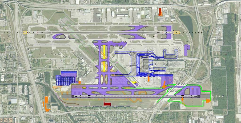 Facility Layout Plan and Airside Access Plan North Side