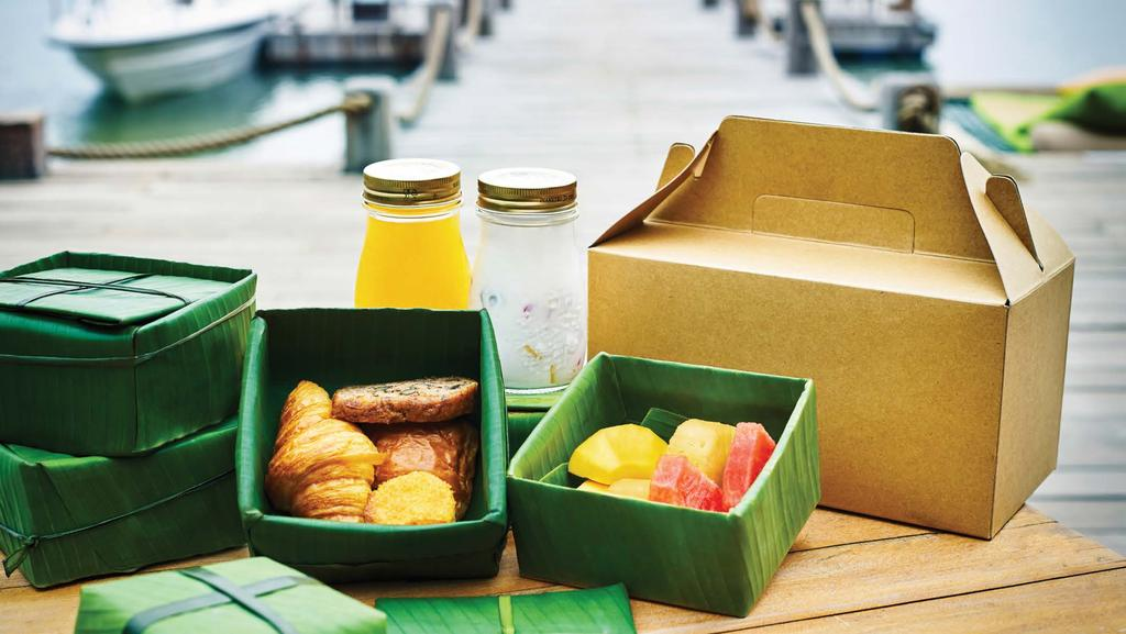 GOURMET-TO-GO Let our culinary team prepare a gourmet hamper just for you.