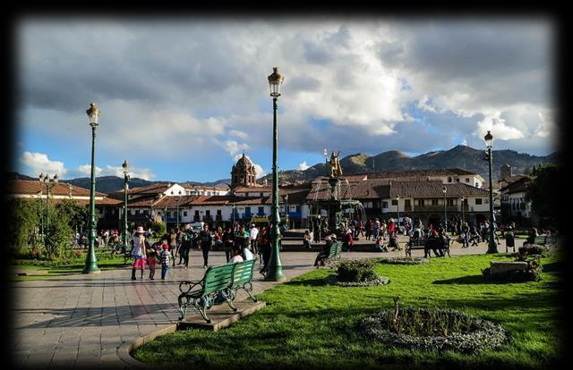 DAY 4 Fly to Cusco Immediately after breakfast, depart the hotel for your flight to Cusco.