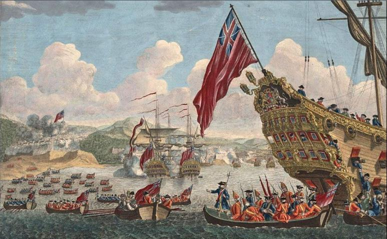 The capture of Louisbourg (1758) PAGE 116 July 26, 1758, Fortress of Louisbourg was