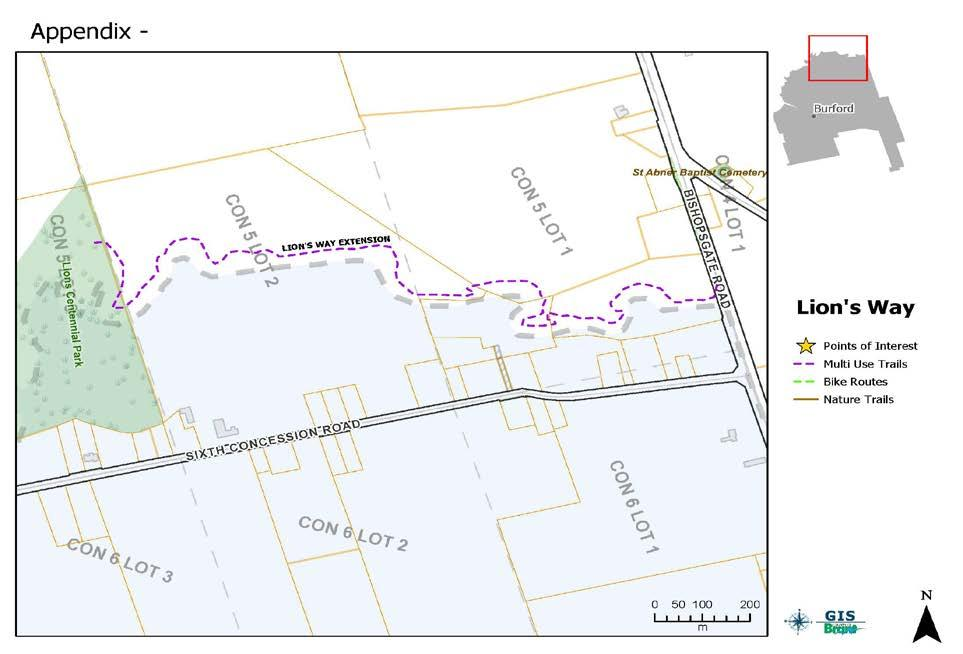 Figure 15b: Individual Community Map Lion s Way 8.6 Individual Community: South Dumfries St.