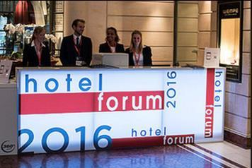 1. The concept hotelforum, the European Hotel Development Conference for Hotel and Real Estate Professionals, is organised in the sidelines of the real estate trade fair Expo Real as a specialised