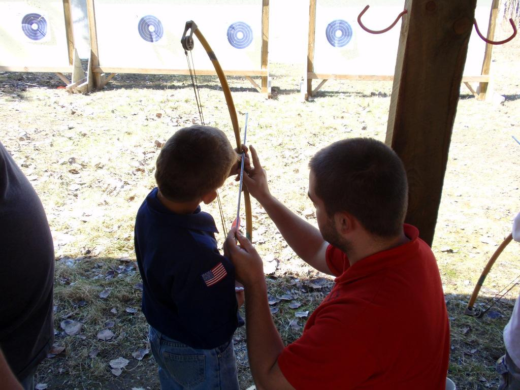 BB Guns Perfect your aim and shoot for the bull's-eye! Archery Sharpen your skills to get ready for the big hunt. The camp staff is here to help you find the center of the target!