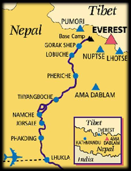 12 Gorak Shep to Everest Base Camp (5,300m) and overnight 13 Trek to Gorak Shep luxury tented camp, climb Kala Patar for sunset 14 Trek to Dingboche or optional add-on flight from Gorak Shep to