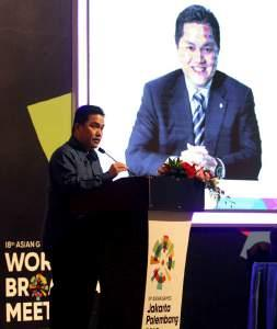 Based on that will, 1 st Asian Games 2018 World Broadcasting Meeting (WBM) were held on November 14-15 th, 2017 at Cendrawasih Room, Jakarta Convention Centre,