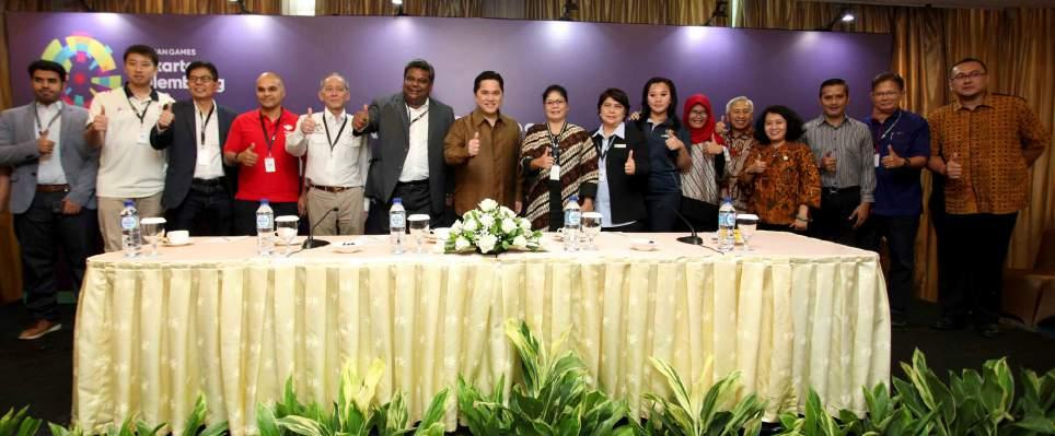 ASIAN GAMES MEDIA & JOURNALIST FORUM 27-28 November 2017 To provide an accurrate information to the world regarding Jakarta and Palembang readiness to host Asian Games 2018,