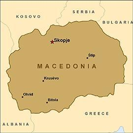 INFO SHEET Youth exchange Nature ahead Advance planning visit 14-16 OCTOBER 2014 Youth exchange main event 03 11 NOVEMBER 2014 Bitola, MACEDONIA GENERAL FACTS ABOUT MACEDONIA Official name: Republic