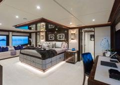 Sensational water slide from Sun Deck Five beautifully designed staterooms 84-inch TV in the