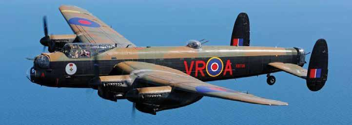 Day 18 - Optional Excursion: AVRO Lancaster Joy Ride For a grand finish to your Canadian trip, sign up for a flight in Canadian Warplane Heritage Museum s famous