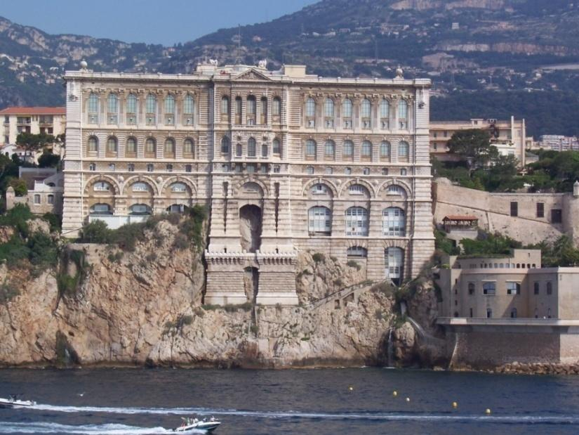 Oceanographic Museum One of the famous museum s situated in Monaco Ville Museum dedicated to Marine Sciences Detailed