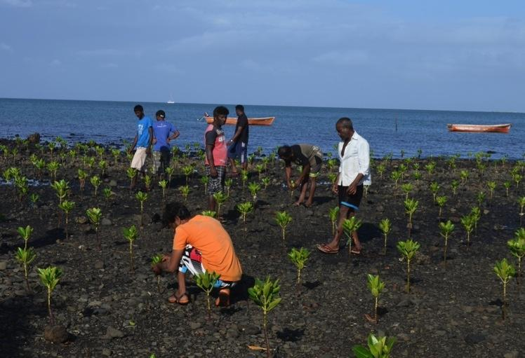 Mauritius Implementing adaptation projects in coastal zones ADAPTATION FUND Shoreline