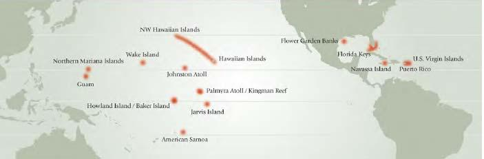 Geography: Where are Coral Reefs? U.S.