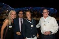 reception bringing together journalists and travel industry