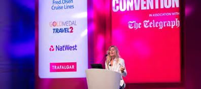 Promotional Highlights Headline Partner Five companies have the opportunity to be a Headline Partner of the 2017 Travel Convention.
