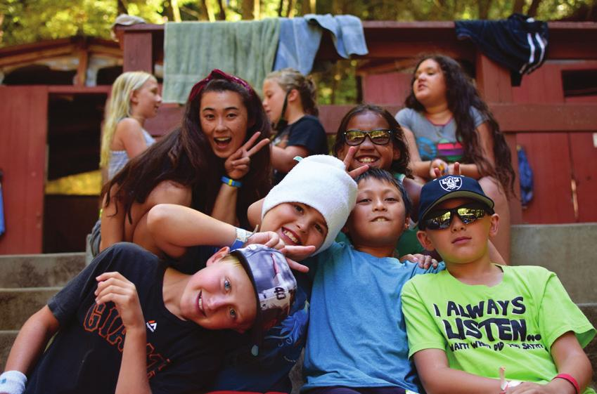 They embody the CYO Camp philosophy and share a passion for fun-filled adventure in nature.