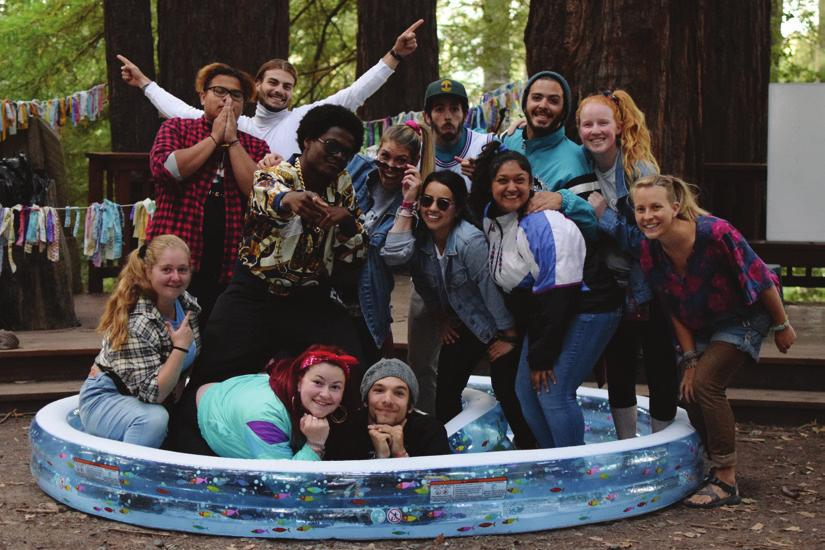 everyday life. The last step before taking on a leadership role, Stepping Stone campers celebrate diversity while discovering their true selves.