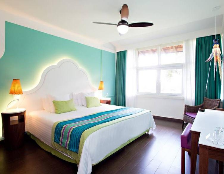 Accommodation Category Name Minimum area (sq m) Strengths Capacity Amenities Club Club Room - Sea Side 31 Sea side Mini fridge at your disposal, Shower Club Room - Family, Sea Side 29